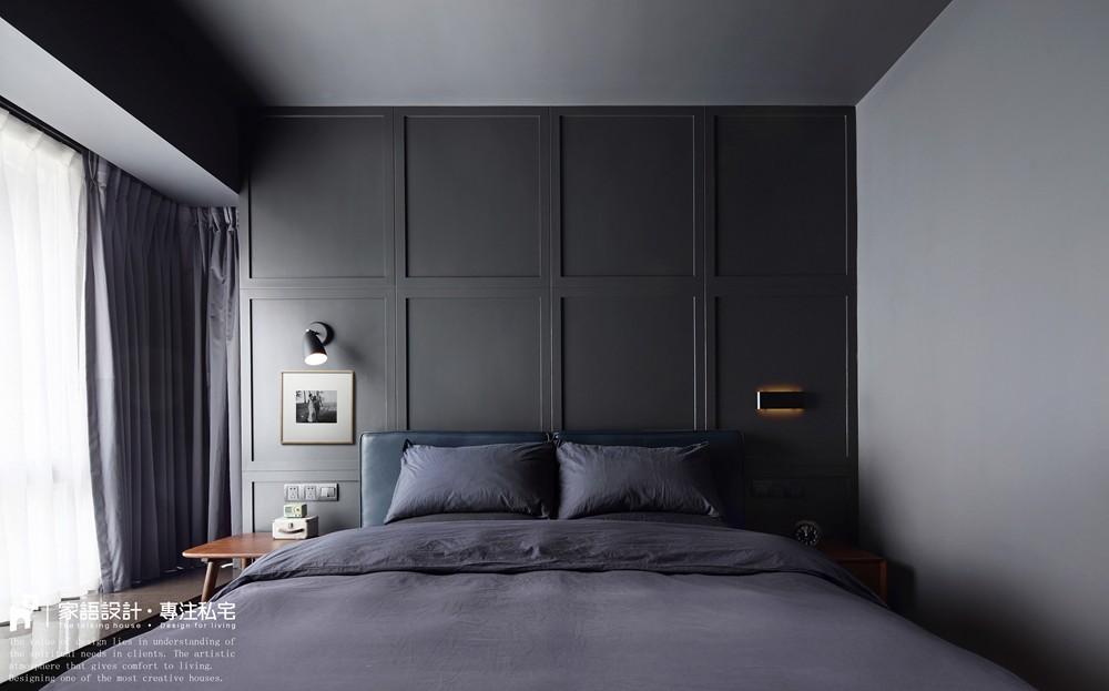 黑色·幽默卧室潮流混搭卧室设计图片赏析