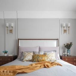 美式经典风卧室设计图片