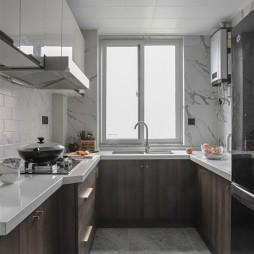 美式經典風廚房設計圖