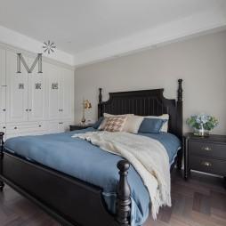 现代美式次卧室设计图