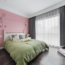 现代美式卧室设计图