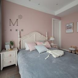 现代美式次卧设计图