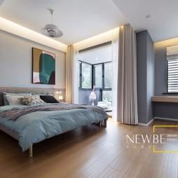 现代简约别墅豪宅卧室设计图