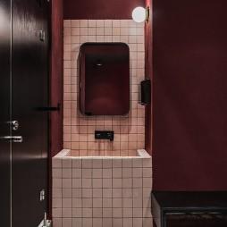 时髦健身场卫生间设计