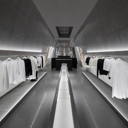 SND買手店內部展示區設計圖