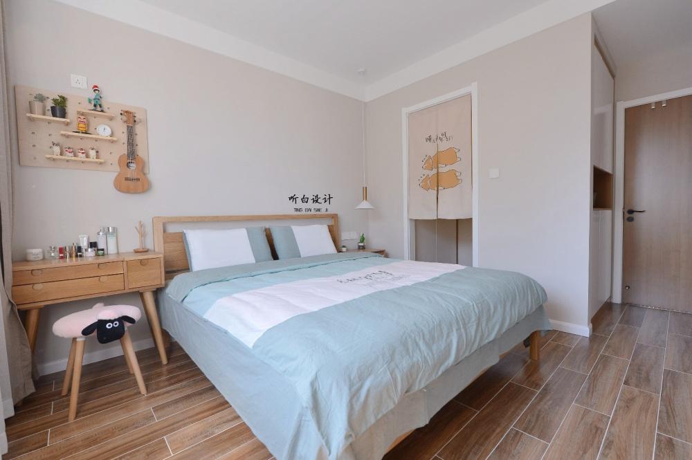 听白设计最新作品秋天的family卧室4图北欧极简卧室设计图片赏析