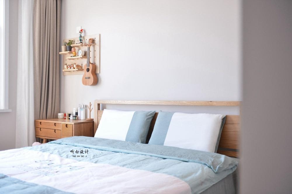 听白设计最新作品秋天的family卧室3图北欧极简卧室设计图片赏析