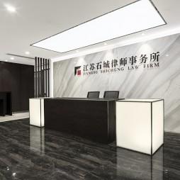 南京石城律師事務所前臺設計圖