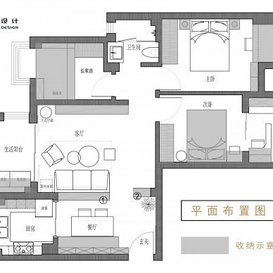 老式中国风精装房,变宽敞明亮、清新淡雅风_3624000