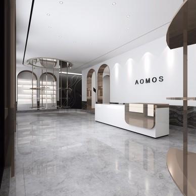 易恒设计:以精致高贵形塑AOMOS展厅_3624643