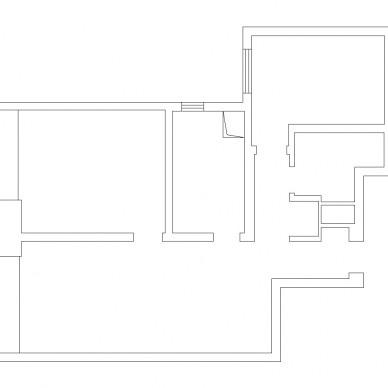 把精裝房拆成毛坯,打造出會變形的客廳_3625050