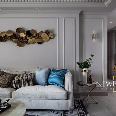 经典美式客厅实景图片