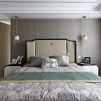 新中式主卧室实景图