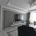 新中式客厅背景墙设计图