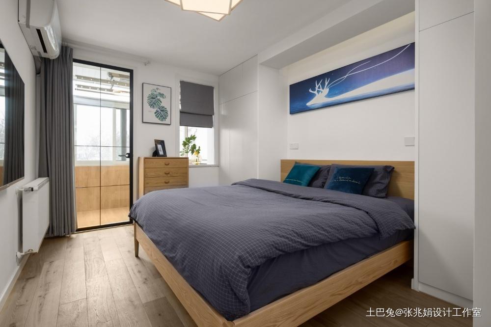 半夏ZZ.design作品卧室窗帘日式卧室设计图片赏析