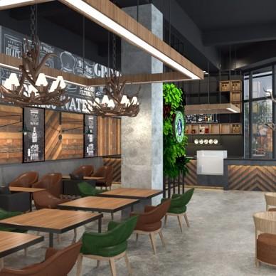 重庆滤光咖啡馆空间设计_3632033