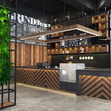 重庆滤光咖啡馆空间设计_3632035