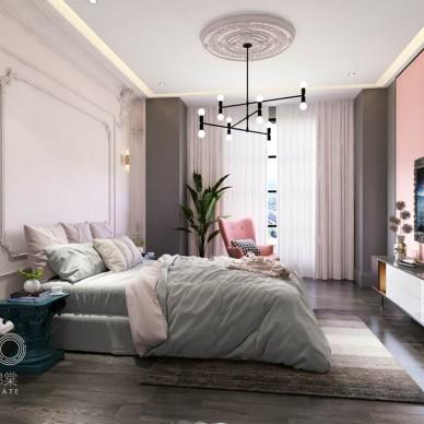 色彩感十足的公寓_3632943