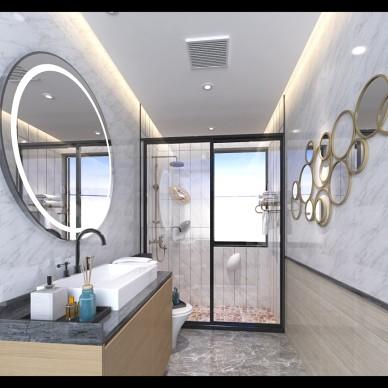 港式简约家装样板房设计_3634685