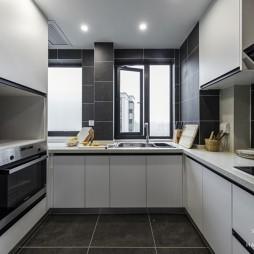 現代輕奢廚房實景圖片