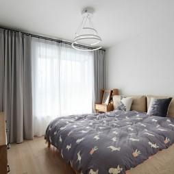木质日式风次卧设计