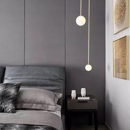 前衛現代風臥室吊燈圖片