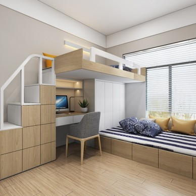 宝安福永90m²住宅设计_3639182