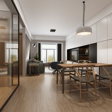 宝安福永90m²住宅设计_3639185