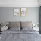 舒适北欧风卧室设计图