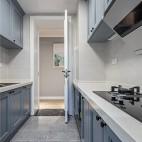 舒适北欧风厨房设计图