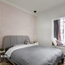 整洁极简风主卧室设计图