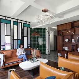 马山栖渡酒店客厅设计