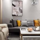现代简单客厅背景画设计
