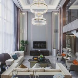 中式豪宅客厅实景图片
