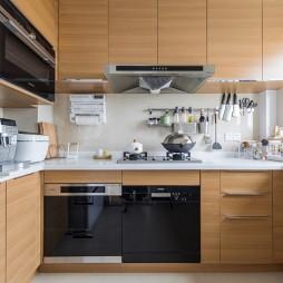 日式混搭風廚房設計圖
