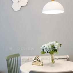 「尔雅设计」优雅北欧风餐厅设计
