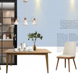 貴陽一號94㎡戶型北歐家居軟裝設計方案_3651991