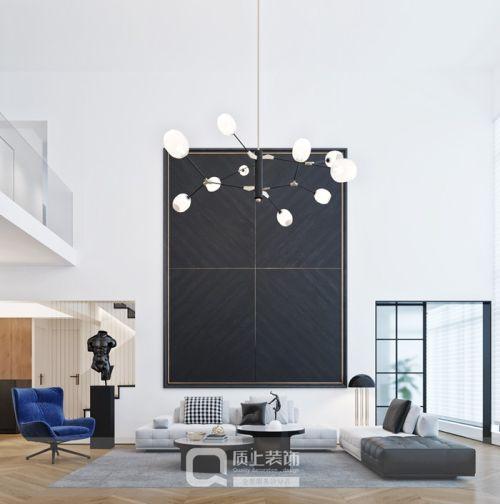 设计案例 世界城230㎡大宅气质201-500m²复式家装装修案例效果图