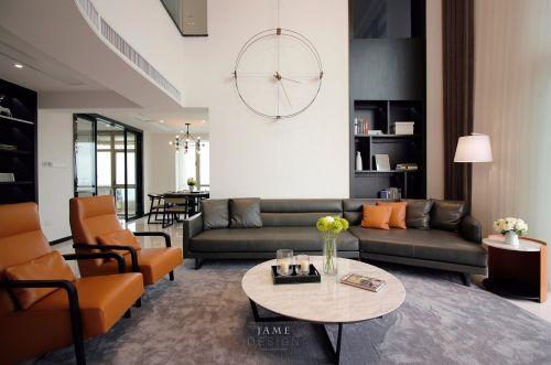 第二步:请为图片添加描述客厅茶几201-500m²复式家装装修案例效果图