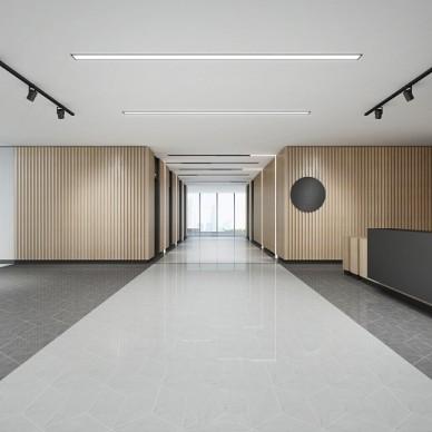 办公空间-白色的office_3656465