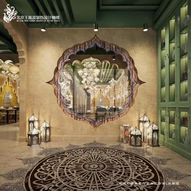 主题餐厅设计,新派西域风情计--疆来_3656961