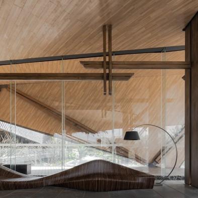 万科西双版纳文化展厅:艺术空间,情致东方