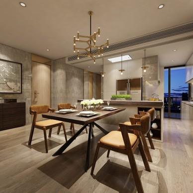 深圳宝安御龙居三室一厅设计_3674557