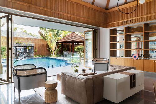 700㎡度假私宅,满满三亚阳光收进家201-500m²潮流混搭家装装修案例效果图