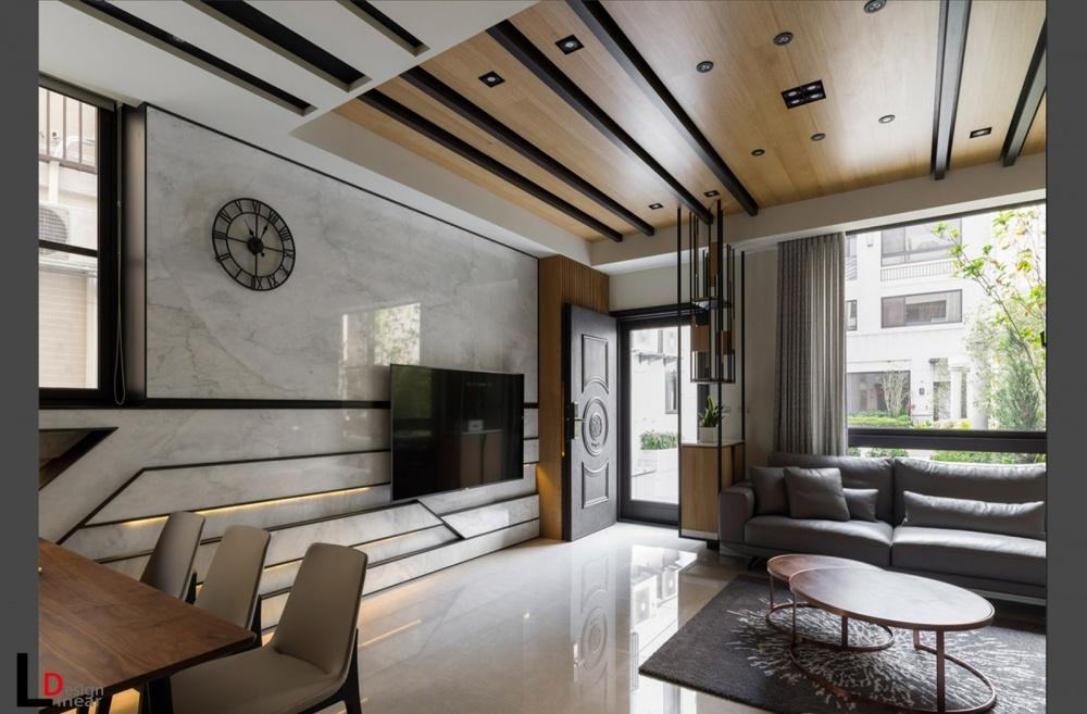 现代摩登暖心住宅客厅现代简约客厅设计图片赏析