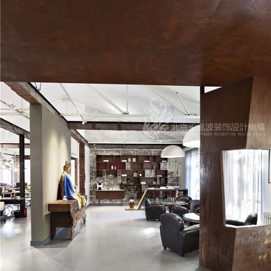 办公空间设计,王凤波装饰设计室内实景_3695065