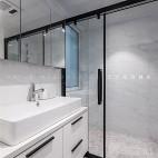 现代简约风卫浴设计实景图