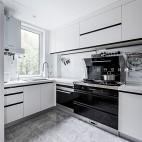 现代简约风厨房实景图