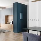 现代简约风客厅储物柜设计