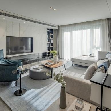 沈陽中海華貿北復式大宅—客廳圖片
